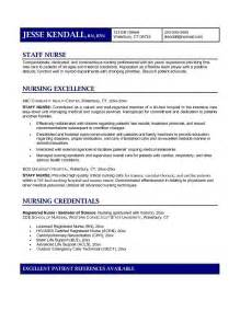 comprehensive resume sle for nurses sle of comprehensive resume for nurses 51 images