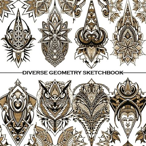 diverse geometry with orge kalodimas sake tattoo crew