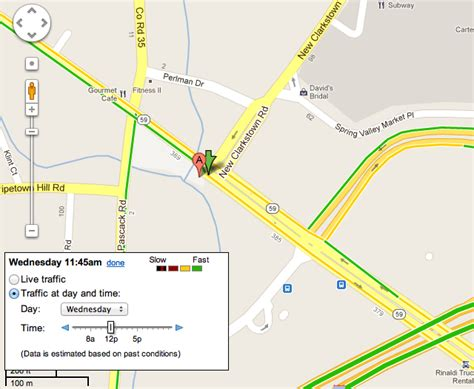 road map directions maps traffic by day time now on roads