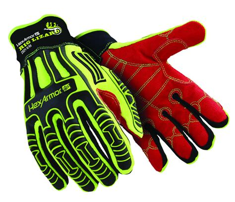 Glove Mpact Half Fingger Od east rig out ltd impact protection gloves