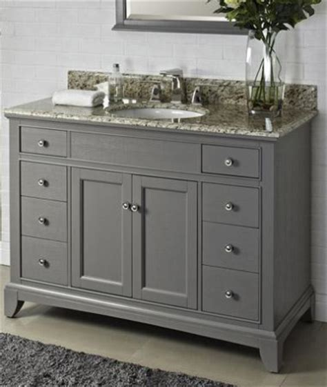 fairmont smithfield medium gray bathroom vanities