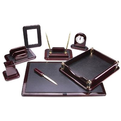 Office Desk Set Desk Sets Personalized Desktop Accessory