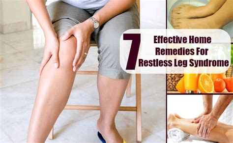 7 effective home remedies for restless leg