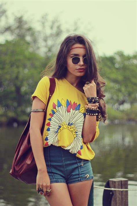 hippie style how to get a hippie style makeover glam radar