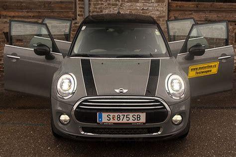 Mini 5 T Rer Automatik by Mini Cooper 1 5 Aut 5 T 252 Rer Im Test Autotests