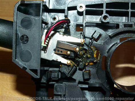 Motorrad Blinker Wechseln Kosten by Reparatur Des Defekten Com2000 Selbst Gemacht Peugeot