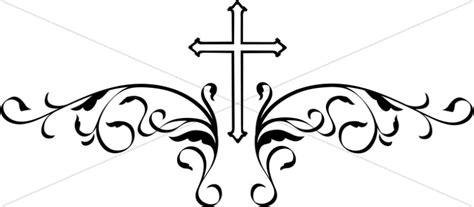 decorative black cross