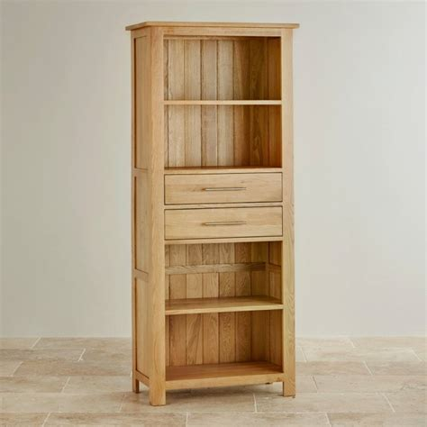 rivermead solid oak bookcase