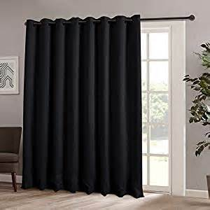 Insulated Patio Door Curtains Onlycurtain Thermal Insulated Blackout Patio