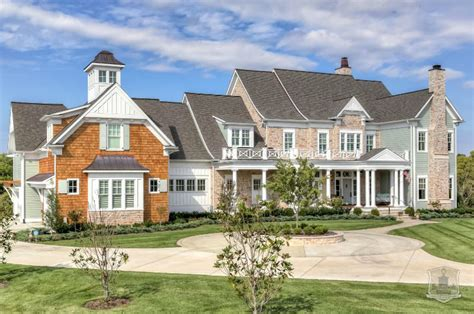 Greystone Country House In Kentucky By Stonecroft Homes House Designs Ky