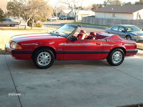 convertible models ford mustang convertible iii 1990 models auto database