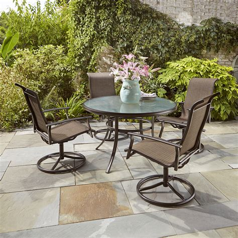 garden oasis harrison 5pcs motion dining set limited