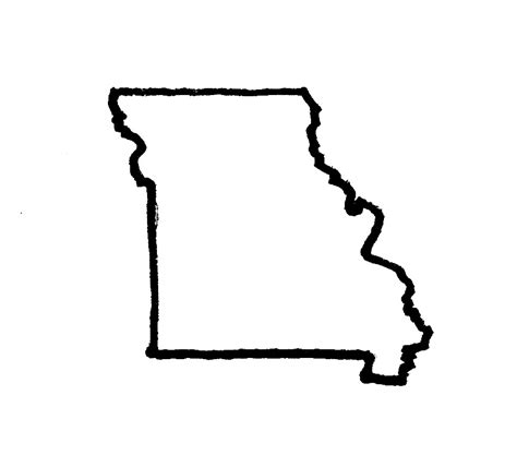Missouri State Outline by How About That Boot Heel Garthwaite Author