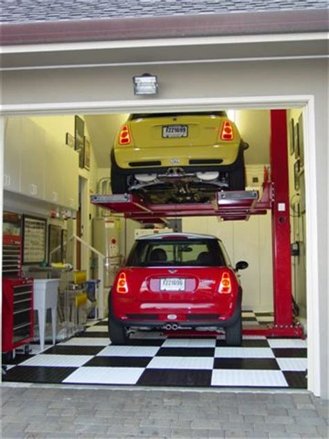 Car Lifts For Home Garage by Home Garage Auto Lift The Mustang Source Ford Mustang