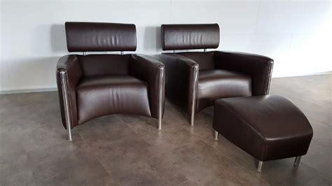 leren fauteuil leolux leren donkerbruine leolux oblomov fauteuil