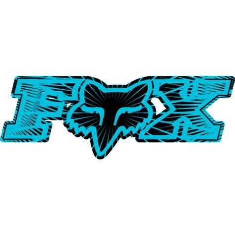 fox motocross stickers fox racing fox racing inner space single stickers