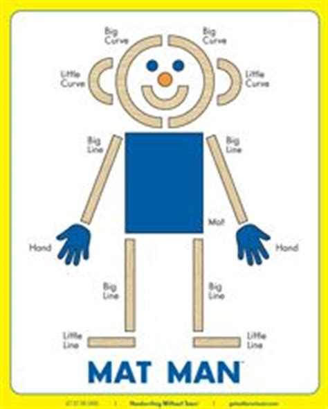 printable mat man shapes 17 best images about homeschool preschool kindergarten
