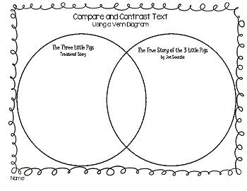 venn diagram in subject compare and contrast the three pigs venn diagram