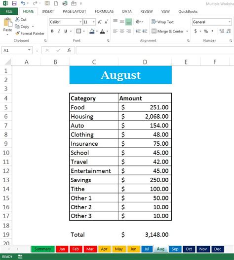 linking cells between worksheets in excel 2013 am 4642 3