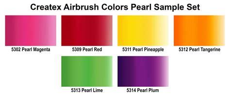 createx airbrush colors sets