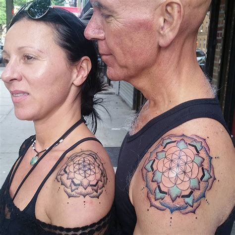 bored panda tattoo couple 13 brave couples who chose matching wedding tattoos