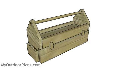 wood tool box  drawer plans myoutdoorplans