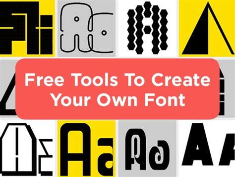 font design software free online make custom fonts for free with these 3 programs