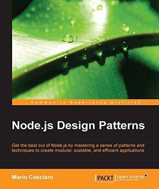 javascript pattern parse node js design patterns by mario casciaro reviews