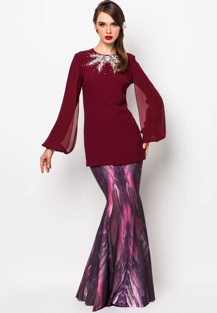 fesyen baju kurung erra fazira future trends 2014 raya collection 2013 from jovian and hatta