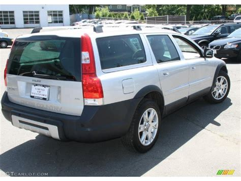 volvo xc70 2007 2007 silver metallic volvo xc70 awd cross country