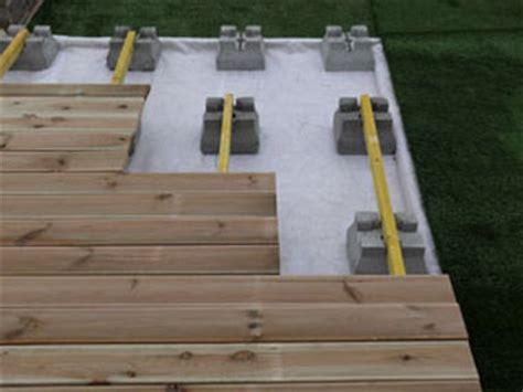 Plan Terrasse Bois Sur Plot Beton 2535 by Plot B 233 Ton Support Terrasse Bois Ggi Fabrication De
