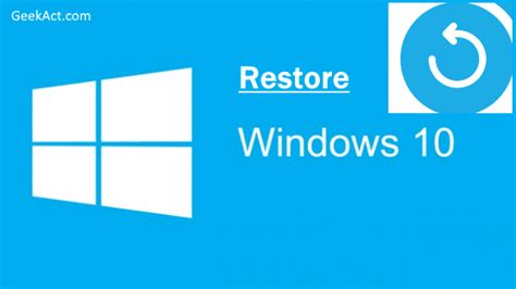 factory reset vista without password tech acts for geeks geekact