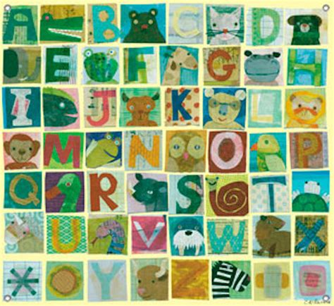 alphabet wall mural animal alphanbet mural wall