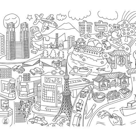 City Coloring Pages City Coloring Pages To Download And Print For Free