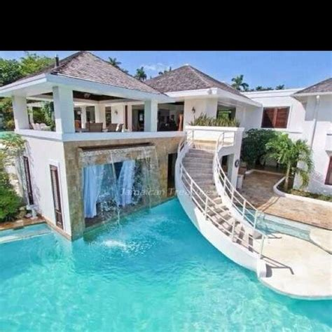 Cool Pool Houses | cool pool and house just add water cool pools pinterest