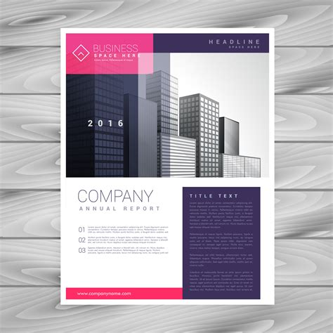 magazine layout vector free download trendy magazine layout brochure flyer design a4 template