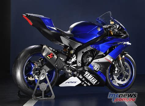 Yamaha Motorrad Preise 2019 by 2017 Yamaha Yzf R6 Showcased In Race Trim Mcnews Au