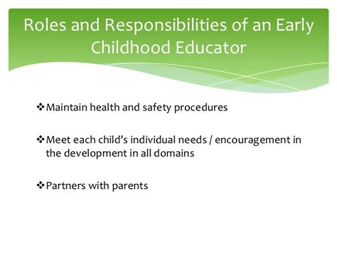 And Safety Educator italy global child care