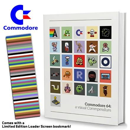 retro dev c64 edition books commodore 64 book a visual commpendium c64 funstock co uk