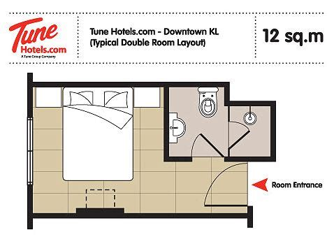 Budget Hotel Design Layout | airasia s low cost tune hotels to mark first london