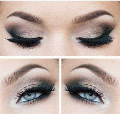 eyeliner tutorial for blue eyes smokey eye tutorial for blue eyes favething com