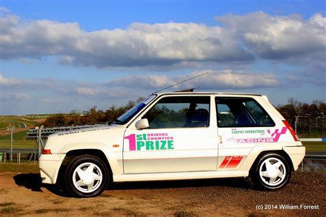 renault 5 turbo racing renault 5 gt turbo at donington park courier connections