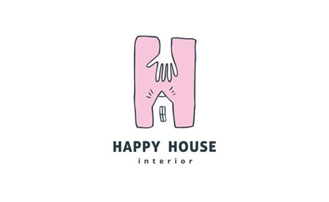 Happy House by Happy House Logo Graphic Design