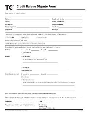 printable sample credit report forms templates
