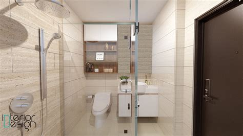 jasa design interior apartemen jakarta kamar mandi apartemen tamansari semanggi jakarta