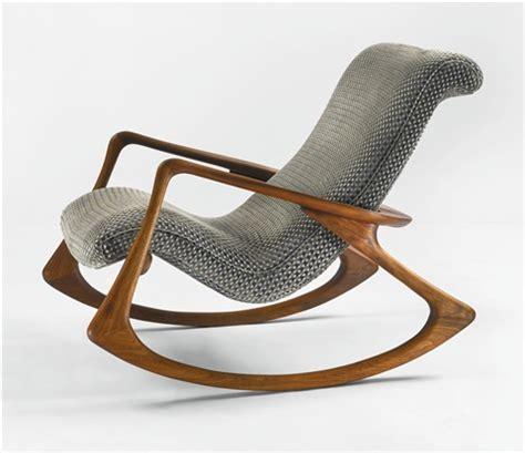 vladimir kagan rocking chair contour rocking chair model no 175 f by vladimir kagan