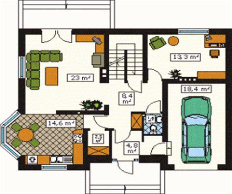 programa para dise ar fachadas de casas gratis plano de vivienda con superficie total de 139 6 m2 arquitexs