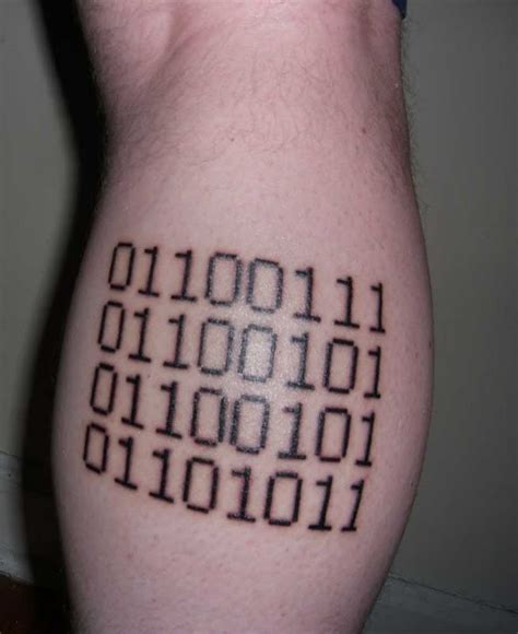 barcode tattoo fail great geek pictures tattooimages biz