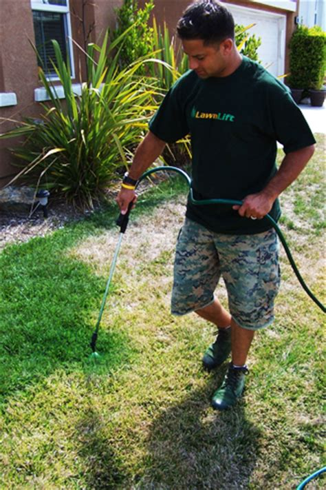 spray paint your lawn green lawnlift america s best selling grass paint