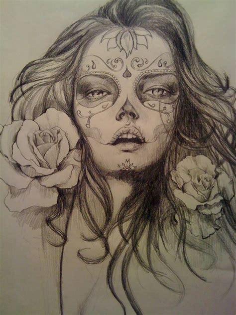 imagenes tatuajes catrinas catrinas dise 241 os bocetos tatuajes 5 catrinas10